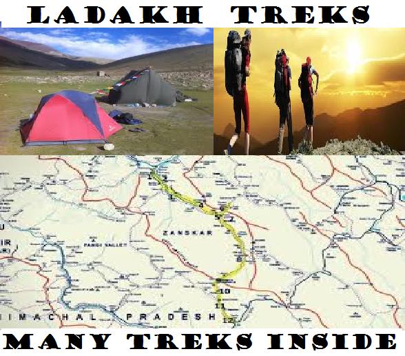 LADAKH TREKS