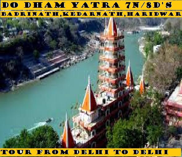 DO DHAM YATRA 7N/8D'S