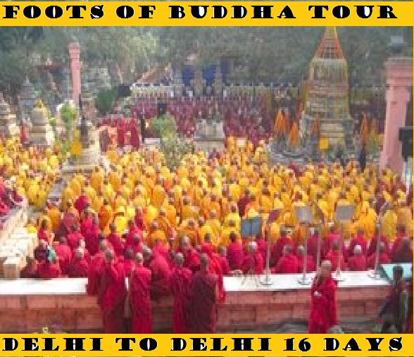 FOOTS OF BUDDHA TOUR 16 DAYS