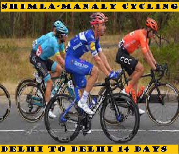 SHIMLA TO MANALI CYCLING 10 DAYS