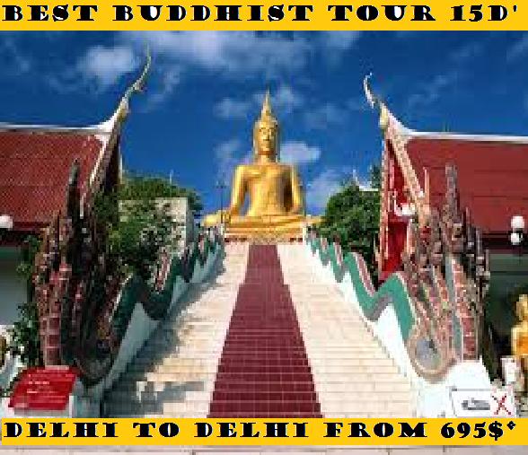 BEST BUDDHIST TOUR 15 DAYS