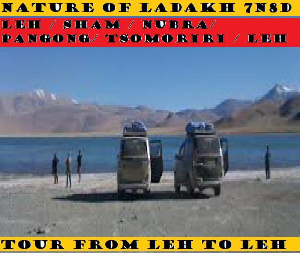 NATURE OF LADAKH TOUR 7N/8D'S